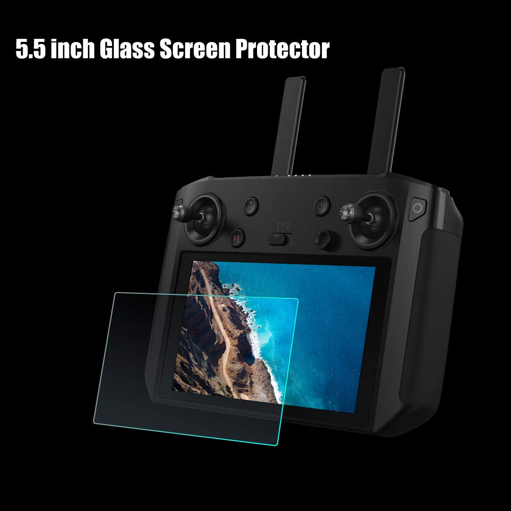Neck Lanyard for DJI Mavic 2 Pro//Zoom Smart Controller Accessories Kit RC GearPro Waterproof Carrying Case Tempered Screen Film