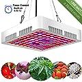 GreensIndoor LED Grow Light Full Spectrum,LED Plant Grow Lights UV,Indoor Plant Growing Light Bulb with Timer