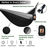 LYDUO Double Camping Hammock with Tree Straps 500