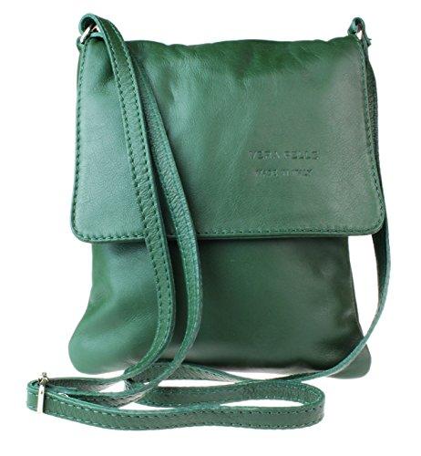 Girly Handbags - Bolso al hombro para mujer - verde