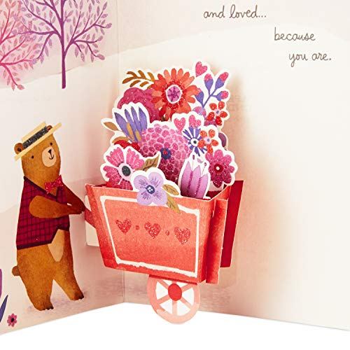 Hallmark Paper Wonder Pop Up Valentines Day Card for Anyone (Beary Loved Valentine) Photo #5