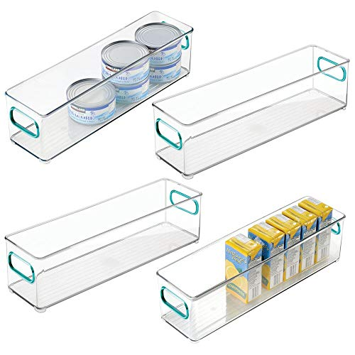mDesign Plastic Stackable Storage Container product image