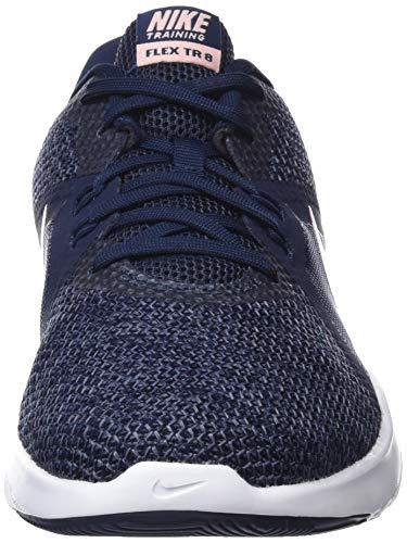 obsidian Nike 001 Flex gridiron Multicolore storm Chaussures Fitness Trainer Femme 8 W De Pink zzrx4fa