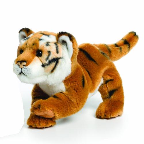 Nat Jules Brown Tiger Plush