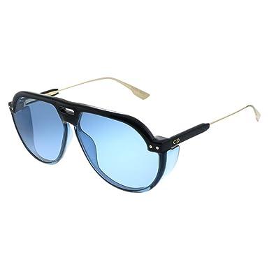 Amazon.com: Dior diorclub3 negro azul/azul 61/12/145 unisex ...
