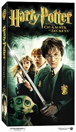 com harry potter and the chamber of secrets vhs daniel  harry potter and the chamber of secrets vhs