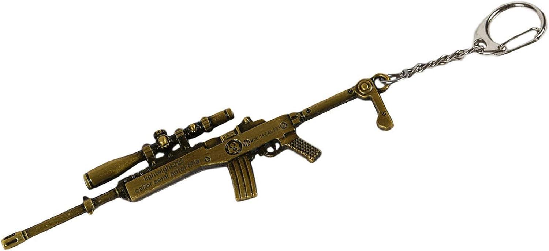 Fithalsa Pubg Keychain Akm M16a4 M416 Scar L Groza Aug A3 Gun