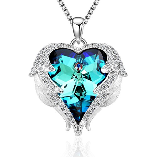(Denvosi Heart Necklaces for Women