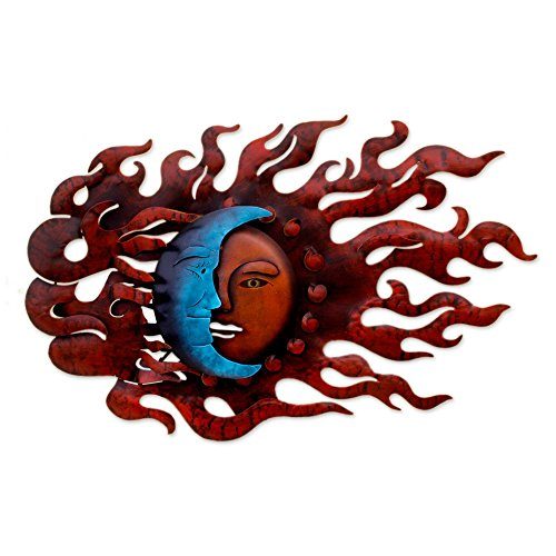 Steel Wall Mural, Red, High Wind Eclipse' ()