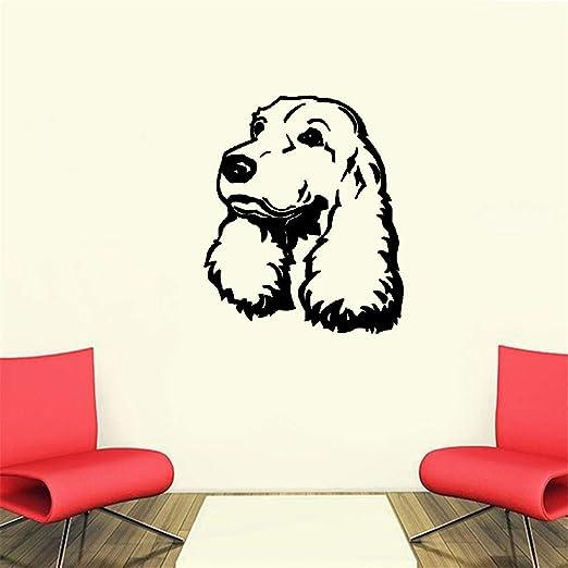 Pegatina De Pared Frases Perro Cachorro Favorito Decoración