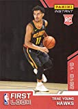 #4: 2018-19 Panini Instant Basketball #FI-5 Trae Young Rookie Card Atlanta Hawks - 1st Official Rookie Card - Only 227 made!