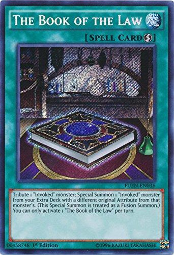 The Book of the Law - FUEN-EN036 - Secret Rare - 1st Edition - Fusion Enforcers