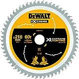 DEWALT DT99570 216 x 30 mm x 60T XR Extreme Runtime Mitre Saw Blade - Yellow/Black