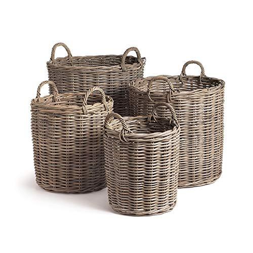 Napa Home & Garden Normandy Round Basket, Set of 4