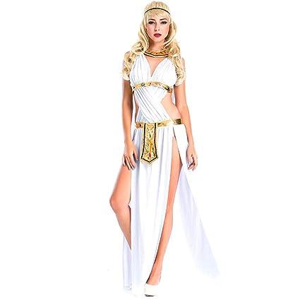 Amazon.com: QZ Halloween Cosplay - Disfraz de la diosa ...