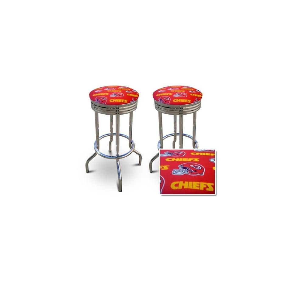 Kansas City Chiefs NFL Football Themed Specialty / Custom Barstools