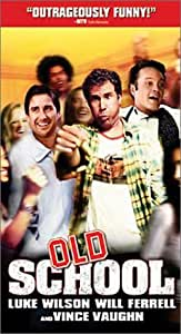 Old School (Rated) [VHS]