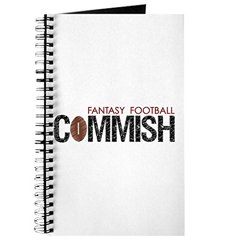 CafePress Fantasy Football Commish Spiral Bound Journal Notebook, Personal Diary, Task Journal