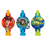 Amscan Toy Story Power Up Birthday Party Blowouts Favor (8 Pack), 5