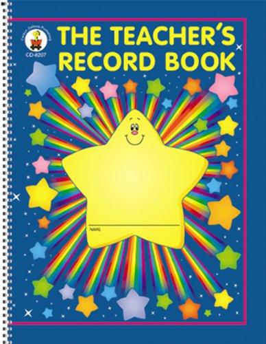 Carson Dellosa The Teacher's Record Book Record/Plan Book (8207) Carson-Dellosa Publishing Classroom Management Education Education & Teaching