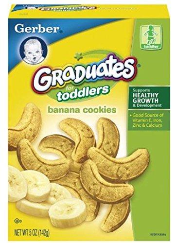Gerber Graduates Banana Cookies 5 Oz,for Todder