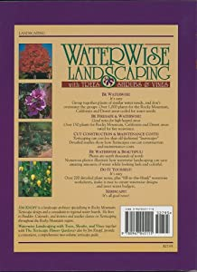 WaterWise Landscaping with Trees, Shrubs, and Vines: A Xeriscape Guide for the Rocky Mountain Region, California, and Desert Southwest