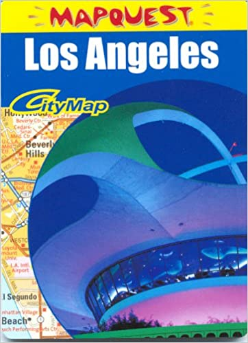 Los Angeles Ca Z Map American Map Corporation 9780841624931