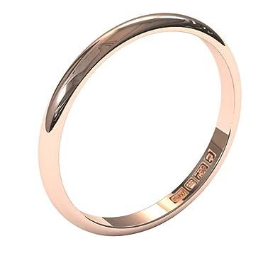 Xzara - New 9ct and 18ct Solid Gold 2mm Ladies/Gents UK