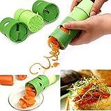 Kitchen Tool Vegetable Fruit Shred Twister Cutter Spiral Slicer Peeler Garnish
