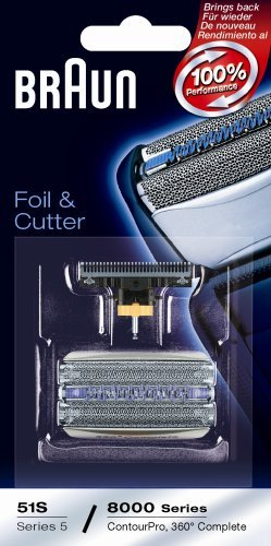 Braun 8000 360 Complete Foil and Cutter Block - Braun 8000 Series Razor