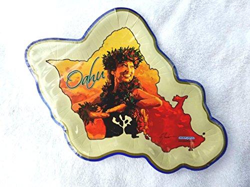 Oahu Hula Plates -