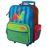 Stephen Joseph Dino Rolling Luggage, Multi, One Size, 1-Pack
