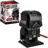 LEGO BrickHeadz Darth Vader 41619 Building Kit (104 Piece), Multicolor