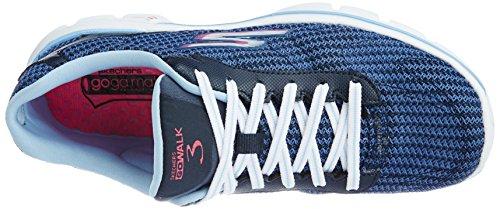 FITKNIT GO Bleu Skechers Nvlb WALK de 3 femme Chaussures sport t6xO7qA