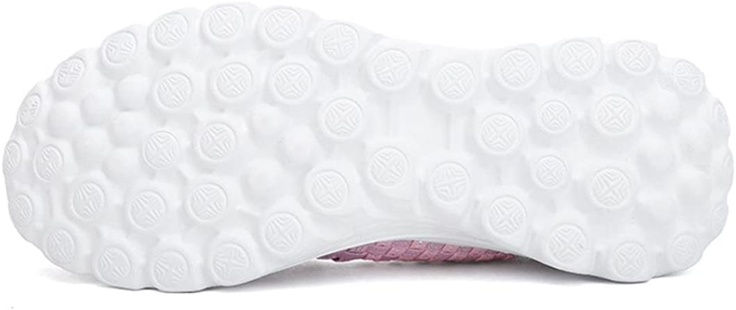 Zapatillas de Deporte El/ástico Lona para Mujer Oto/ño 2018 Zapatos de Plano de Dama PAOLIAN Senderismo Casual N/áuticos C/ómodo Talla Grande Calzado de Se/ñora Moda