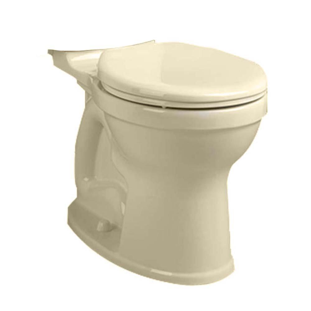 American Standard 3395B001.021 Champion-4 HET Right Height Round Front Toilet Bowl, Bone