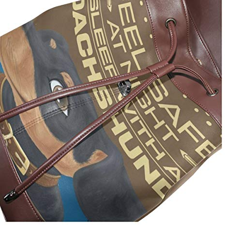 Tax ryggsäck handväska mode PU-läder ryggsäck ledig ryggsäck för kvinnor