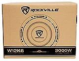 """2 Rockville W12K6D2 V2 12"""" 4800w"""