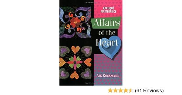 Applique masterpiece affairs of the heart aie rossmann