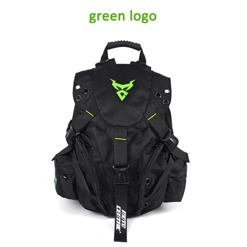 Laideyilan MOTOCENTRIC Motorbike Backpack Outdoor Sports Riding Package Motorcycle Helmet Backpack Motorcycle Cycling Computer Backpack Kit Bag MC-0099