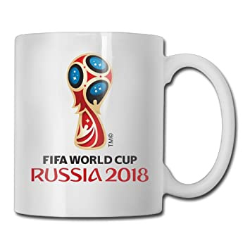 Amazon 2018 Russia World Cup Logo Coffee Mugs Tea Mug Office