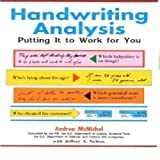img - for Handwriting Analysis: Putting it to Work for you book / textbook / text book