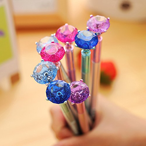 witkey-lovely-diamond-shape-gel-ink-pen-rollerball-pens-diamond-x-8-pens