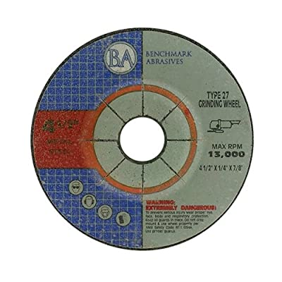 "4.5""x1/4""x7/8"" Pro Depressed Center Grinding Wheel - 10 Pack"