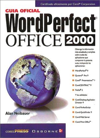 La Guia Oficial De Wordperfect Oficce 2000 ebook