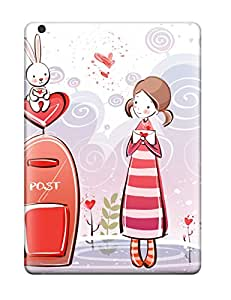 Hot New Sweet Couple Cartoon S Cases Covers For Ipad Air With Perfect Design