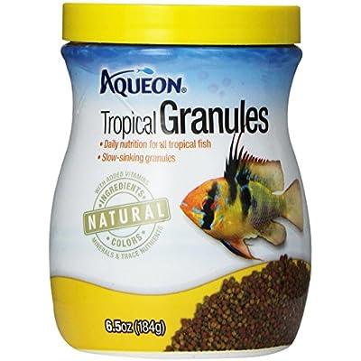 Click for Aqueon Tropical Granules Fish Food