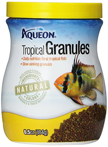 Aqueon Tropical Granules Fish Food, - Food Granules