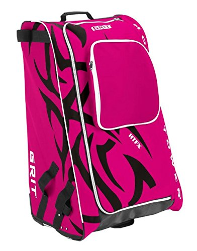 Grit Inc HTFX Hockey Tower 33'' Wheeled Equipment Bag Fuchsia HTFX033-DI (Diva) by Grit