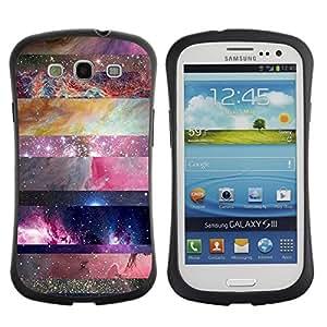 Suave TPU GEL Carcasa Funda Silicona Blando Estuche Caso de protección (para) Samsung Galaxy S3 I9300 / CECELL Phone case / / universe sky nature lines pattern star /